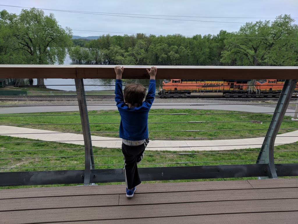 Visiting the Great River Landing in Onalaska WI is fun to do with kids in La Crosse, WI