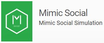 Stukent Mimic Social Simulation